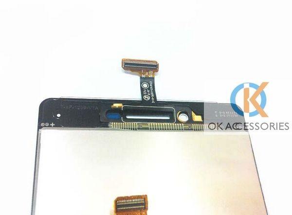 ᗑ】Color blanco para Oppo R1S R8007 pantalla LCD + pantalla táctil ...