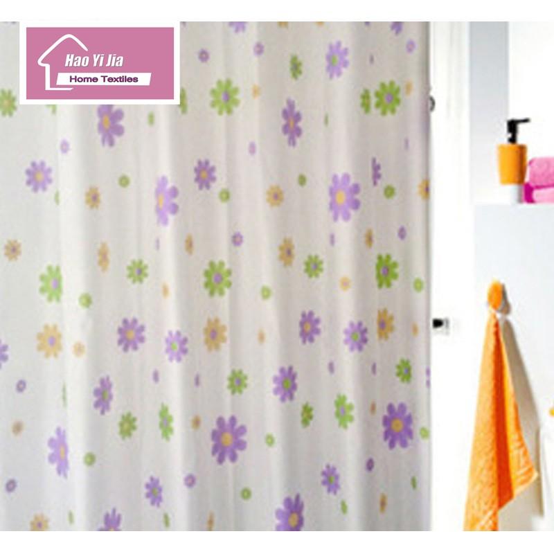 ᗚ180 cm * 180 cm Cortina de ducha material de protección del