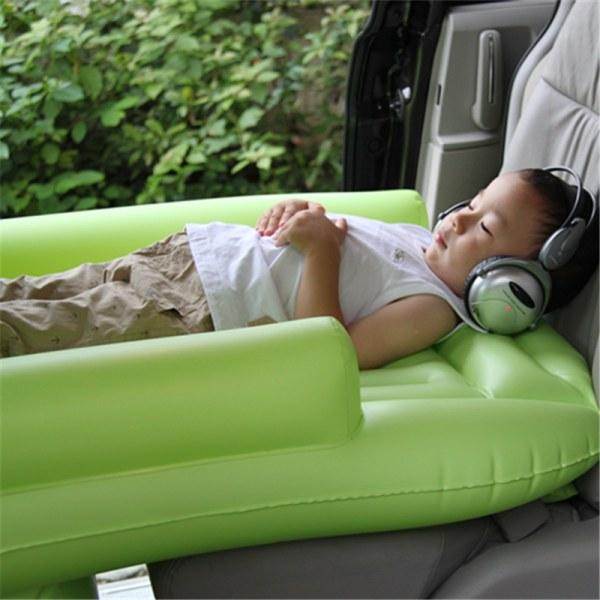 Children' Inflatable Mattress Vehicle Travel Bed