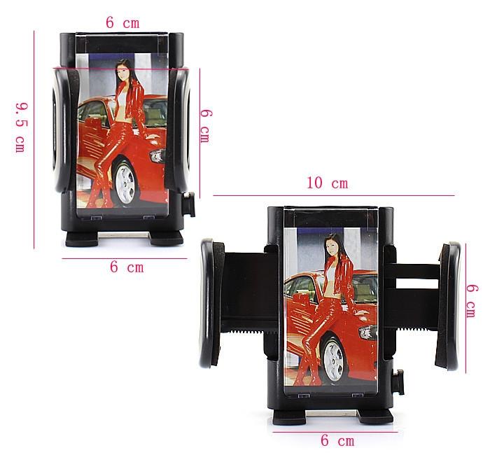 איכות גבוהה אוניברסלי רכב הר בעל שאיבה עריסת הטלפון לעמוד עבור טלפונים חכמים אנדרואיד Samsung galaxy S3 S4 S5 NOTE 4