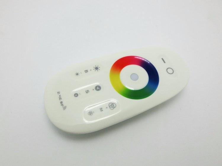 №18A DC12-24V RGB LED controlador 2.4g pantalla táctil RF de control ...