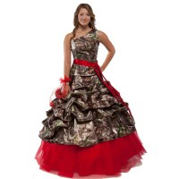 Camo Prom Dresses Promotion