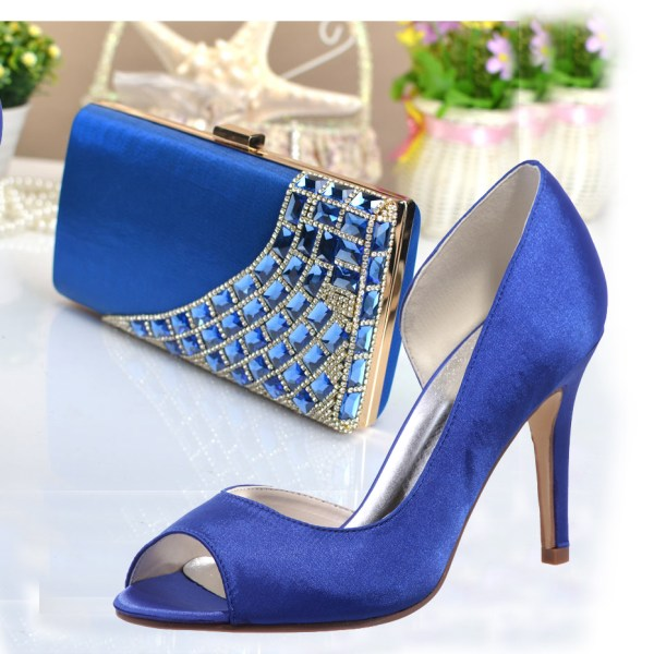 Online Kopen Royal Blue Womens Dress Shoes Uit China