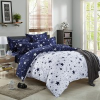 Duvet Cover Pillow Case Quilt Cover Bed Set Single Double ...