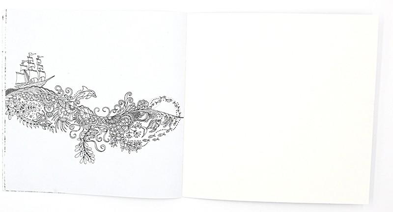 ᗗ1 unids 24 páginas lost Ocean Inky Adventure libro para colorear ...