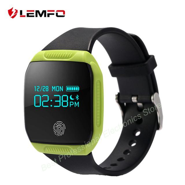 LEMFO E07S Водонепроницаемый Bluetooth Спорт Smart Watch Шагомер Фитнес-Трекер Smartwatch Вызова Напоминание Для Android IOS Телефонов