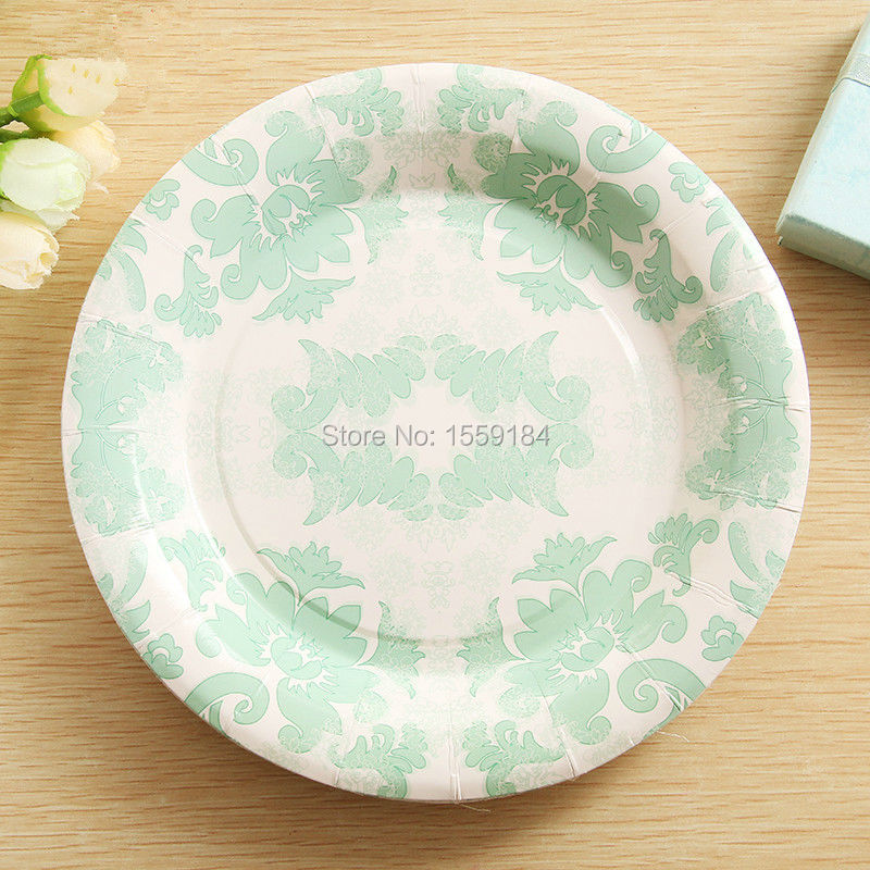 2017 Wholesale Disposable Party Tableware Paper Plates