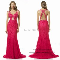 Fuschia Mermaid Prom Dresses - Formal Dresses