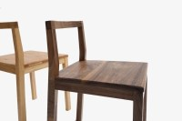 Simple/modern style furniture/solid wood chair/black ...