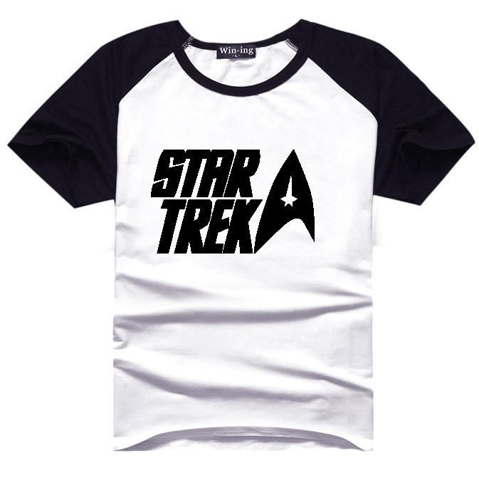 Star Trek Logo T Shirt Sci Fi Spock Tshirt Movie T