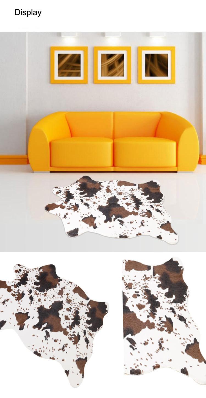 75 110 Cm Tapetes E Carpetes De Pele Artificial Para Ligving Sala  -> Tapete Sala Frete Gratis