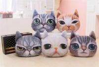 40CM*38CM Pillow Cat Head Car Use Cushions Boy & Girls ...