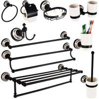 black bathroom hardware - 28 images - where to splurge and ...