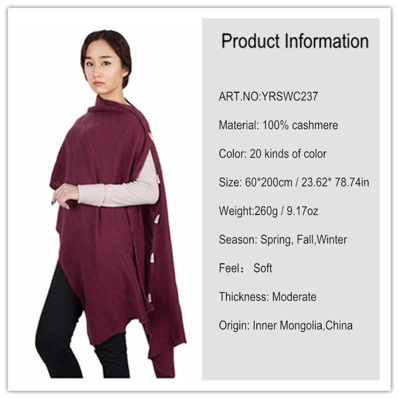 ⑦Cachemira pashmina bufanda caliente gruesa colores multi mujeres ...