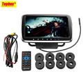 9 Car Headrest Monitor With DVD Display Screen KTV Music Player