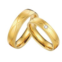 Cool Wedding Ring 2016: Wedding gold rings pair