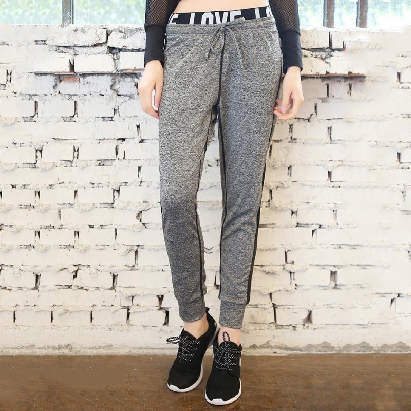 ... que antes de cohechar un 2XL pantalones holgados informales holgados de  mujer con estampado de letras a la moda Pantalones Harem con cordón para  mujer ... 9b8f5ed5a60f
