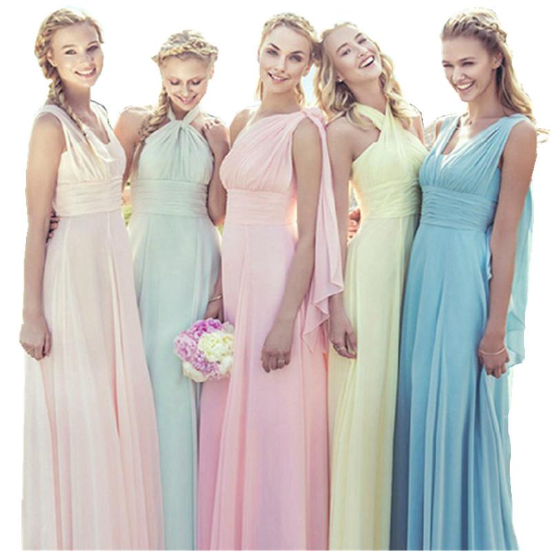 Popular Dusty Blue Bridesmaid Dresses