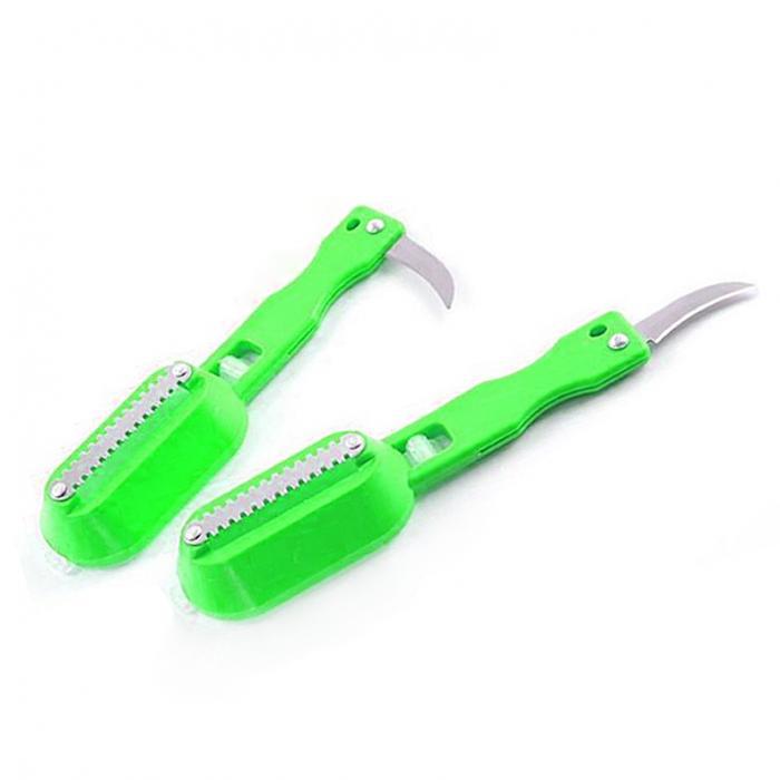 ღ ღNueva 1 unids herramienta de la cocina de pescado Piel de acero ...
