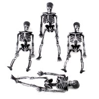2014 Halloween Party Decorations Bar Props 4PCS Skeleton