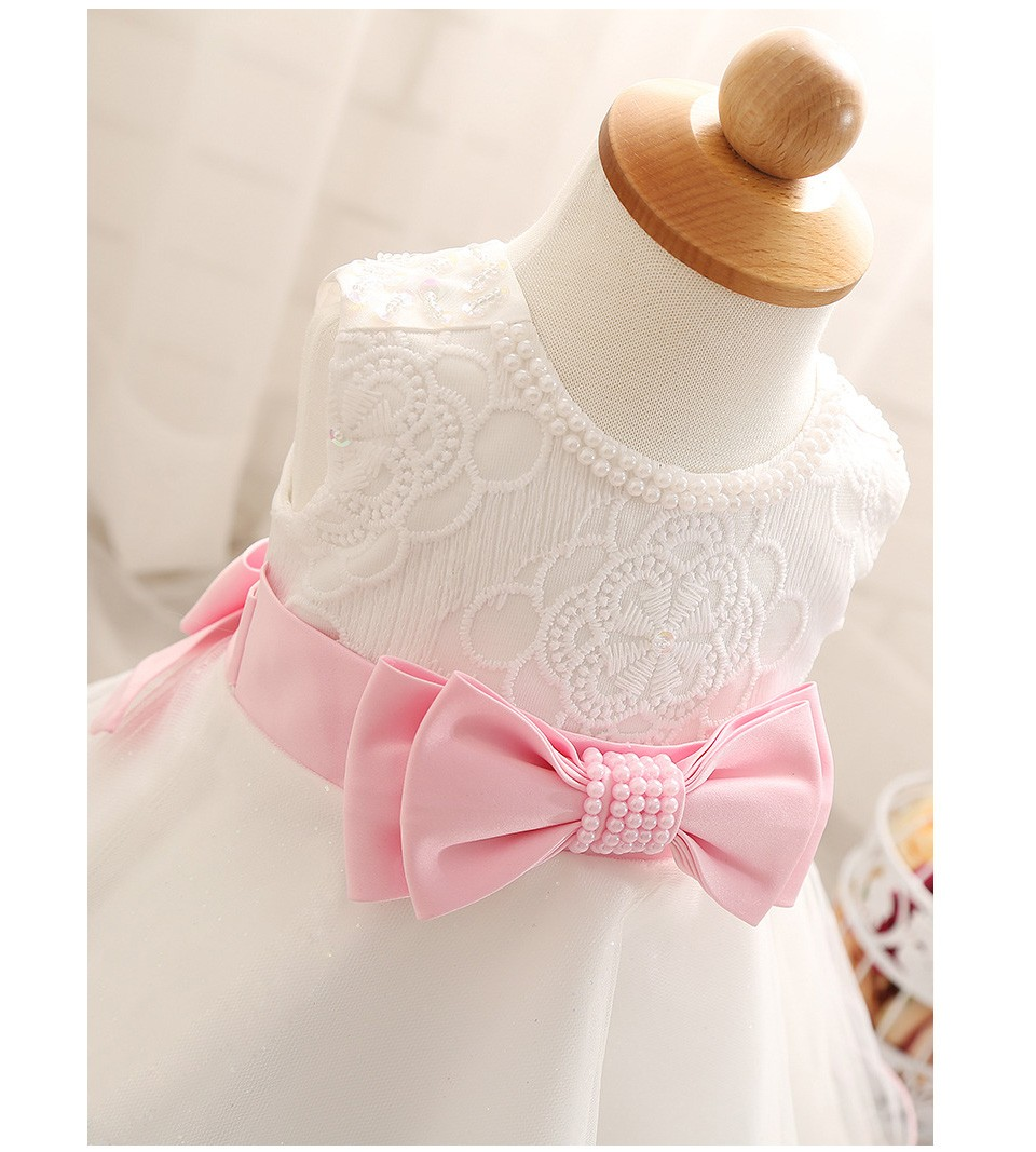 ⊰Smdppwdbb bebé niña Kids party niños ropa niña Vestidos de novia ...