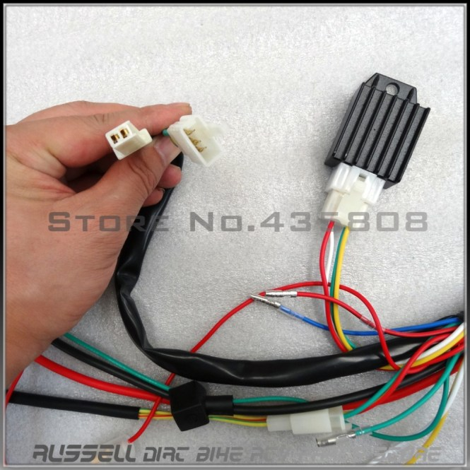 cc atv wiring harness cc image wiring diagram 110cc wire harness 110cc auto wiring diagram schematic on 110cc atv wiring harness