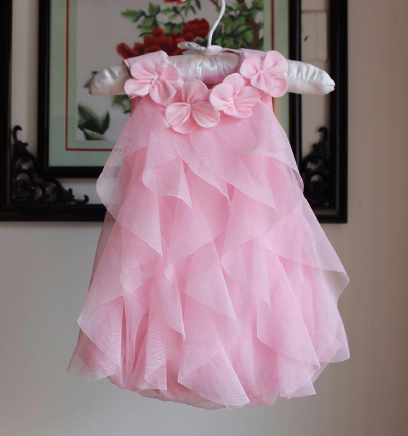 ٩(^‿^)۶Verano Encaje niña vestido niña ropa princesa Tutu niños ...