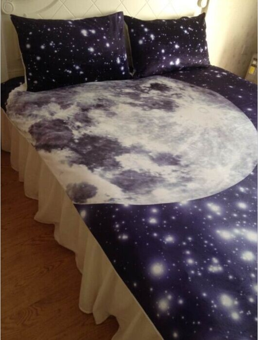 Aliexpress.com : Buy Moon and stars bedding comforter set