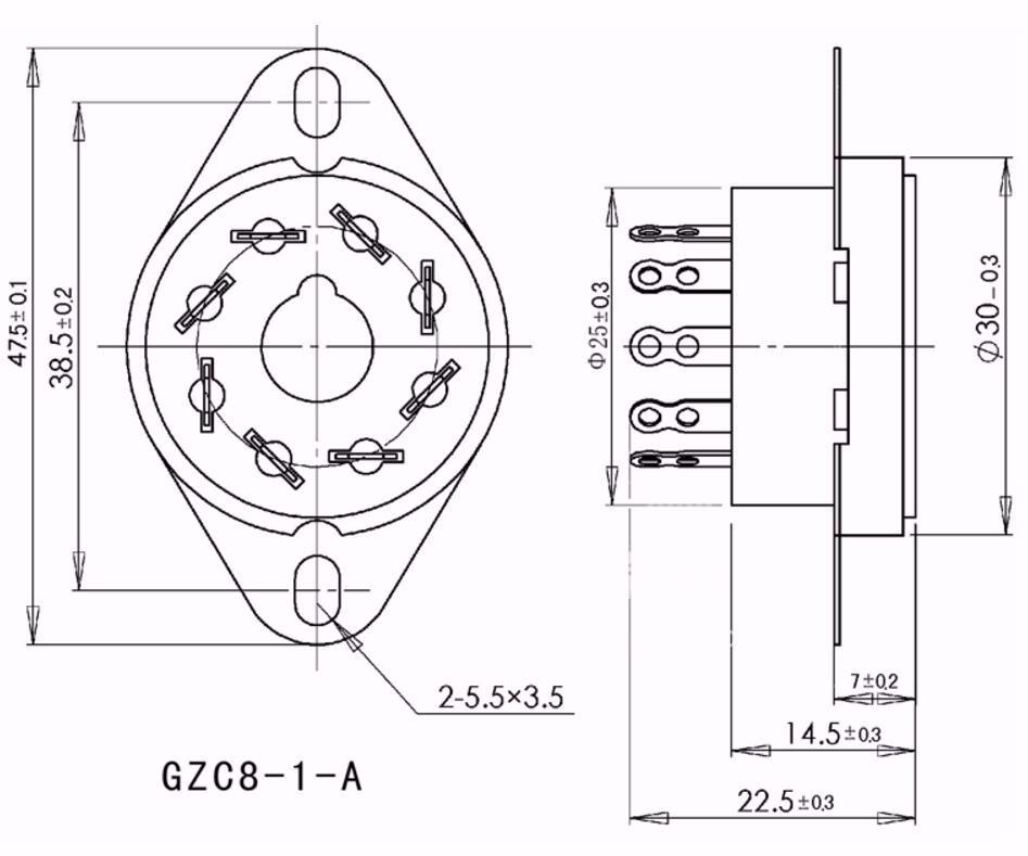 12ax7 Pin Diagram