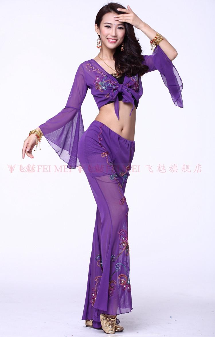 f703523b76aed Nuovi costumi di danza del ventre anziano sexy della maglia del ...