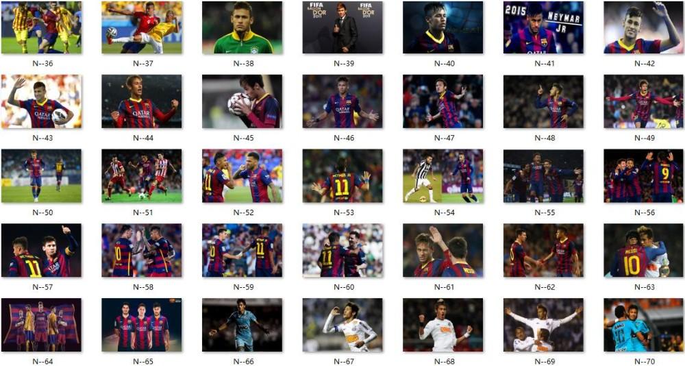 ₩Cartel de Neymar Jr Neymar carteles Copa del Mundo etiqueta de la ... 3eef24087f8