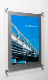 Popular Wall Mounted Acrylic Frame-Buy Cheap Wall Mounted ...
