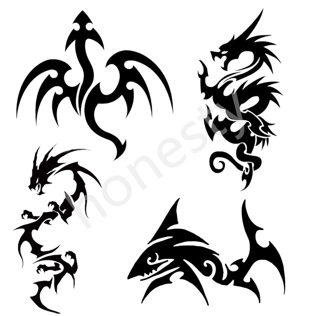 Popular Dragon Stickers Buy Cheap Dragon Stickers Lots