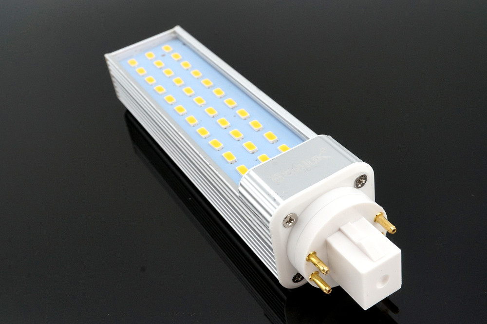 Wall Mounted Lamps With Plug Led Gx24q 4-pin Rotatable Led Plc Lamp 13w , 26w Cfl