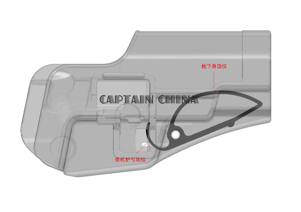 Taille Unique ASG Chargeur CZ 75D Compact GAZ Fixe Adulte Unisexe Noir