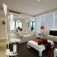 Modern Brief Fashion Design frosted Glass Shade Floor Lamp