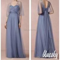 Bridesmaid Dresses Gray And Purple - Flower Girl Dresses