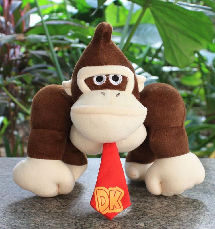 ₩Super Mario Bros. Donkey Kong Плюшевые игрушки обезьяна ...