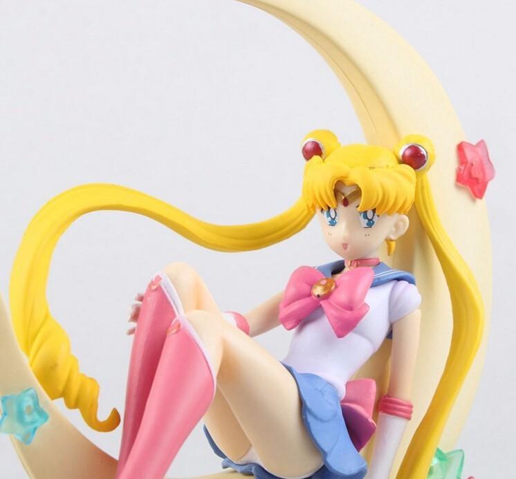 Anime banpresto Sailor Moon tsukino Usagi PVC figura de acción ...