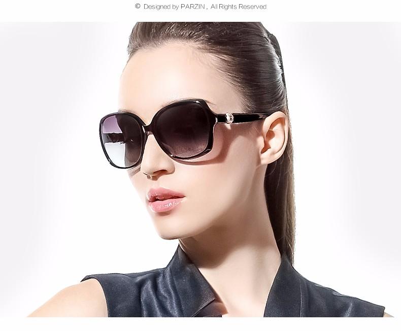 4ea16f4b2e Parzin perla sol polarizadas mujeres elegantes gafas de sol de moda ...