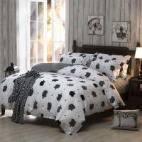 Bedding Sets, cheap Polyester Cotton Bed sheet set, King