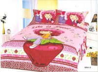 Popular Strawberry Shortcake Twin Bedding Set