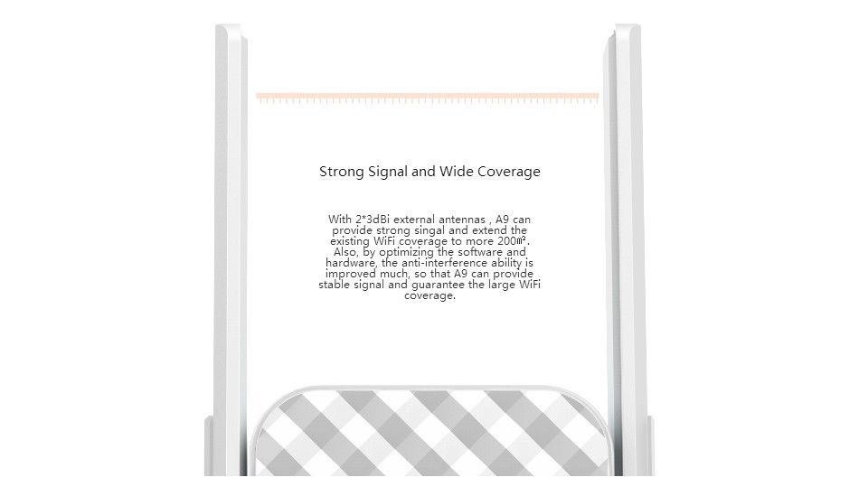 A9 Wifi Repetidor Wireless Router Tenda 300 Mpbs Extensor de Alcance Sem  Fio Amplificador de Sinal Expansor 55b82c8947d08