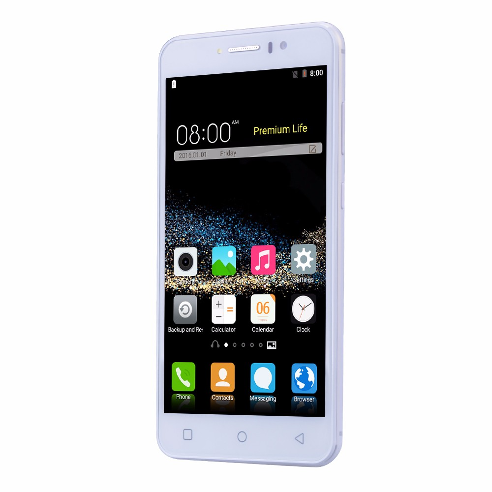 חדש Gooweel M7 3G Smartphone 5.5 מסך IPS אינץ MTK6580 quad core GPS טלפון נייד 1GB זיכרון RAM 8GB ROM WCDMA טלפון נייד