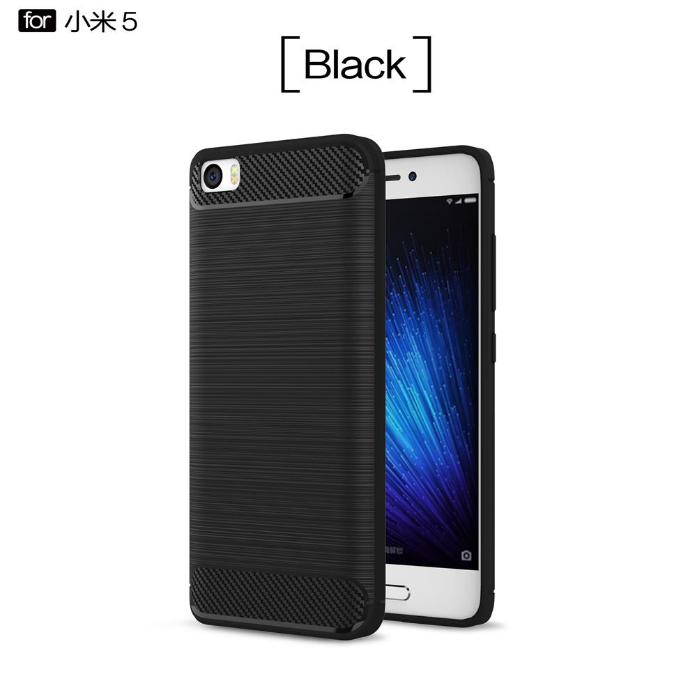 Byheyang For Xiaomi Mi5 Cases Cover Carbon Fiber Texture Case Redmi Note 5 Pro Hq Matte Black Gray Mint Navy Red