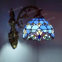 Fashion Tiffany Wall Lamp European Baroque Mirror Bedroom ...