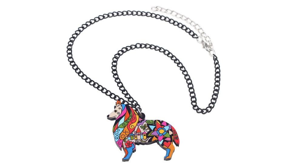 Unicorn PLAGE MAGIQUE CHEVAL Coucher De Soleil Verre Carrelage collier pendentif LICORNE Bijoux