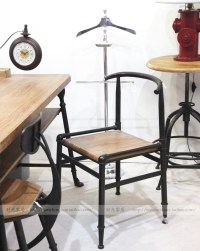 American retro industrial loft style French country ...