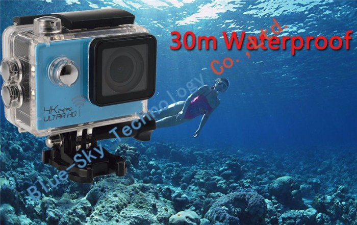 Real Ultra HD 4K 24FPS WIFI Action Camera Diving 2 0