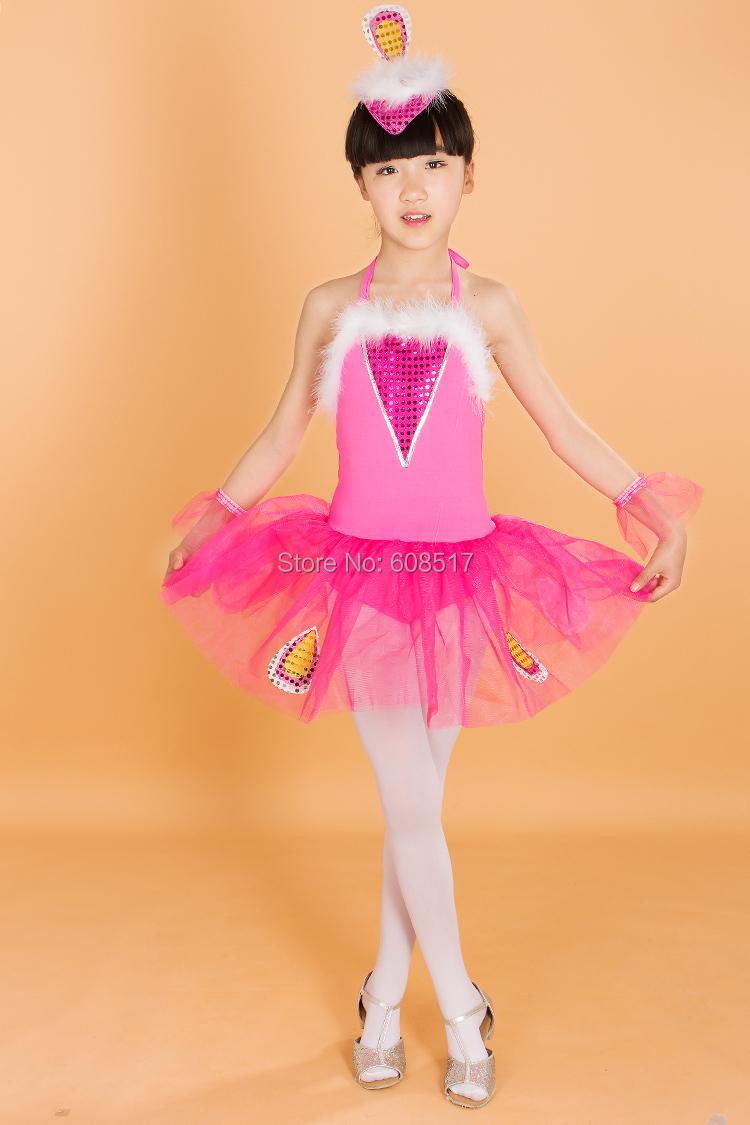 ᑐNiños Ballet vestido ropa del funcionamiento pequeño Cisne ...